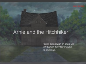 Arnie and the Hitchhiker (PG13 version) screenshot