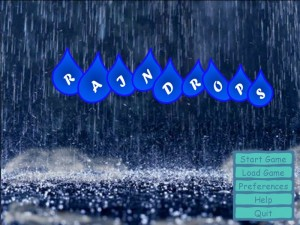 Raindrops screenshot