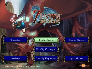 Zenith Chronicles screenshot